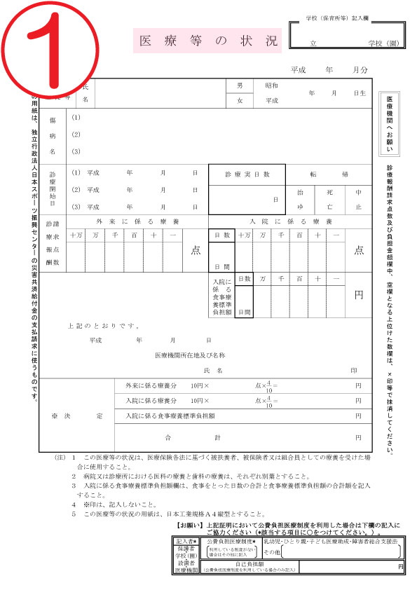 スポーツ 制度 共済 振興 センター 日本 災害 給付